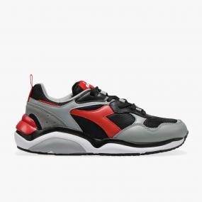 DIADORA WHIZZ RUN BLACK/RED (174340-C2752)