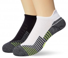 UNDER ARMOUR RUN NS 2PPK SOCKS (1329363-001)