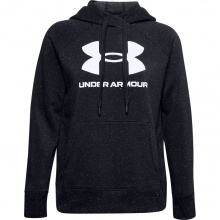 UNDER ARMOUR RIVAL FL LOGO HOODIE (1356318-002)