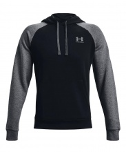 UNDER ARMOUR RIVAL FLC COLORBLOCK HOODIE (1366357-001)