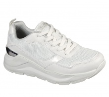 SKECHERS ROVINA-CLEAN SHEEN (155046-WHT)