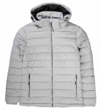 EMERSON DETACHABLE HOOD FAKE DOWN QUILTED JACKET (192.EM10.131 RPS ICE)