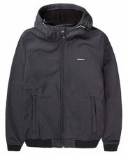 EMERSON HOODED BONDED BOMBER JACKET (192.EW11.88 GMD GREY)