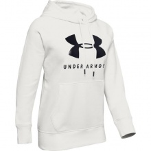 UNDER ARMOUR RIVAL FL SPORTSTYLE GRAPHI HOODIE (1348550-112)