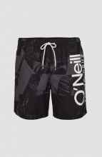 ONEILL CALI FLORAL 2 SHORTS (1A3228-0900) BLACK