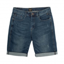 EMERSON STRECH DENIM SHORT PANTS (201.EM45.97 BLUE)