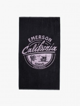 EMERSON BEACH TOWELL (201.EU04.74  BLACK)