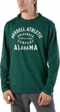 RUSSELL ATHLETIC LS CREW TEE (A8-062-2 259-BO)
