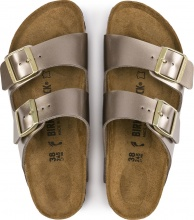 BIRKENSTOCK ARIZONA ELECTRIC BLUE METALIC TAUPE (1012972)