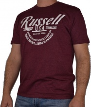 RUSSELL TRACK AND FIELD S/S CREWNECK TEE (A9-086-1ZM-431)