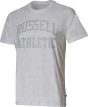 RUSSELL CLASSIC CREWNECK REVERSE PRINTED TEE(A9-021-001)