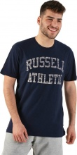 RUSSELL CLASSIC CREWNECK REVERSE PRINTED TEE(A9-021-190)