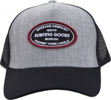 EMERSON  TRUCKERCAP (191.EU01.25 D GREY ML/BLACK)