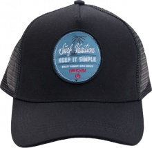 EMERSON TRUCKER CAP (191.EU01.26 BLACK)