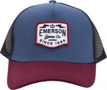 EMERSON TRUCKER CAP (191.EU01.24 NAVY/WINE)