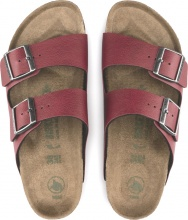BIRKENSTOCK ARIZONA PULL UP BORDEAUX (1016645)
