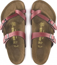 BIRKENSTOCK MAYARI PULL UP BORDEAUX (1016650)