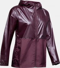UNDER ARMOUR METALLIC WOVEN FULLZIP JKT (1349347-569)