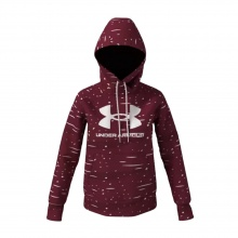 UNDER ARMOUR RIVAL FL LOGO HOODIE (1356318-626)
