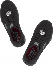 SKECHERS Work Relaxed Fit Flex Advantage Bendon SR (77125- BLK)