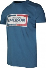 EMERSON T SHIRT (201.EM33.13 DUTCH BLUE)