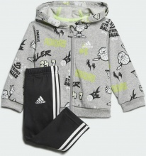 Adidas French Terry Graphic Track Suit (GE0015)