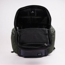 EMERSON BACKPACK (202.EU02.64 Black/Olive/STONE)