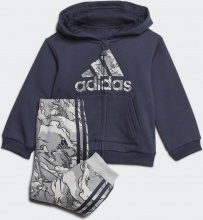 Adidas Fleece Hooded Jogger Set (GE0007)