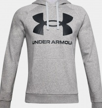 UNDER ARMOUR Rival Big LOGO HOODIE (1357093-011)