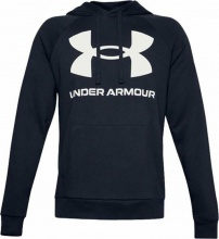 UNDER ARMOUR RIVAL FL LOGO HOODIE (1357093-410)