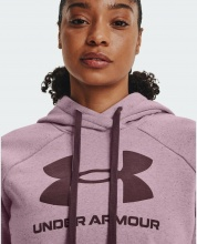 UNDER ARMOUR Rival FL Logo HOODIE (1356318-698)