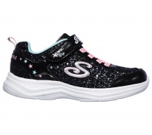 SKECHERS  S LIGHTS: GLIMMER KICKS - GLITTER N' GLOW (20267 BKPK)