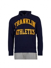 Franklin Marshall  hoodie navy (FLMF110ANAW7N)