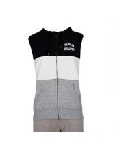 Franklin Marshall  fz ss hoodie black (FLMF120ANAW7B)