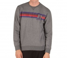RUSSELL ATHLETIC STRIPED SWEATSHIRT GREY (A9-055-2-090)