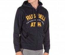 RUSSELL ATHLETICZIPHOODY NAVY (A9-042-2-190)