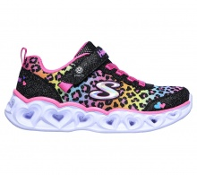 SKECHERS HEART LIGHTS - LOVE MATCH (302145L-BKMT)