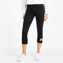 PUMA Essentials Logo 3/4 Leggings (586828-01)
