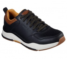 SKECHERS  RELAXED FIT: BENAGO - TRENO (66204 BLK)