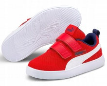PUMA Courtflex V2 Mesh Kids Trainers (371758-06)