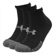 UNDER ARMOUR HEATGEAR LOCUT 3PPK SOCKS (1346753-001)