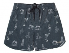 EMERSON PRINT VOLLEY SHORTS (191.EM505.15 PR160 NAVY)