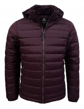 EMERSON PP DOWN JKT RPS BORDEAUX  (192.EM10.131 BORDEAUX)