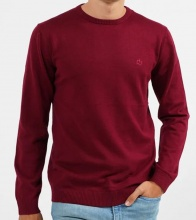 EMERSON COTTON KNIT (202.EM70.90-WINE)
