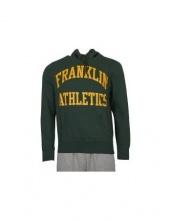 Franklin Marshall  hoodie fairaway (FLMF110ANAW7F)