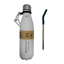 EMERSON Double Wall Vacuum Bottle (500 ml) (211.EU99.02-WHITE)