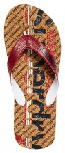 SUPERDRY D2 CORK COLOUR POP FLIP FLOP (MF3103ET-V2Y)