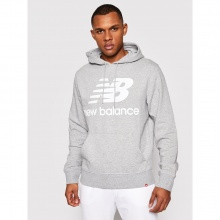 NEW BALANCE ESSENTIAL STACKED HOODIE (MT03558-AG)
