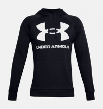 UNDER ARMOUR RIVAL FL LOGO HOODIE (1357093-001)