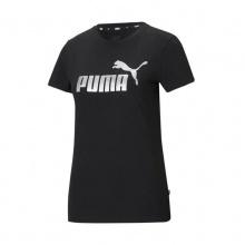 PUMA ESS+ Metallic Logo Tee (586890- 51)